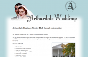 Host your Wedding in Historic Arthurdale